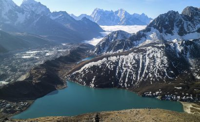 Gokyo trek - one of the Gokyo Lakes