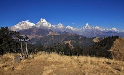 Annapurna community trek - view from Mohare Hill