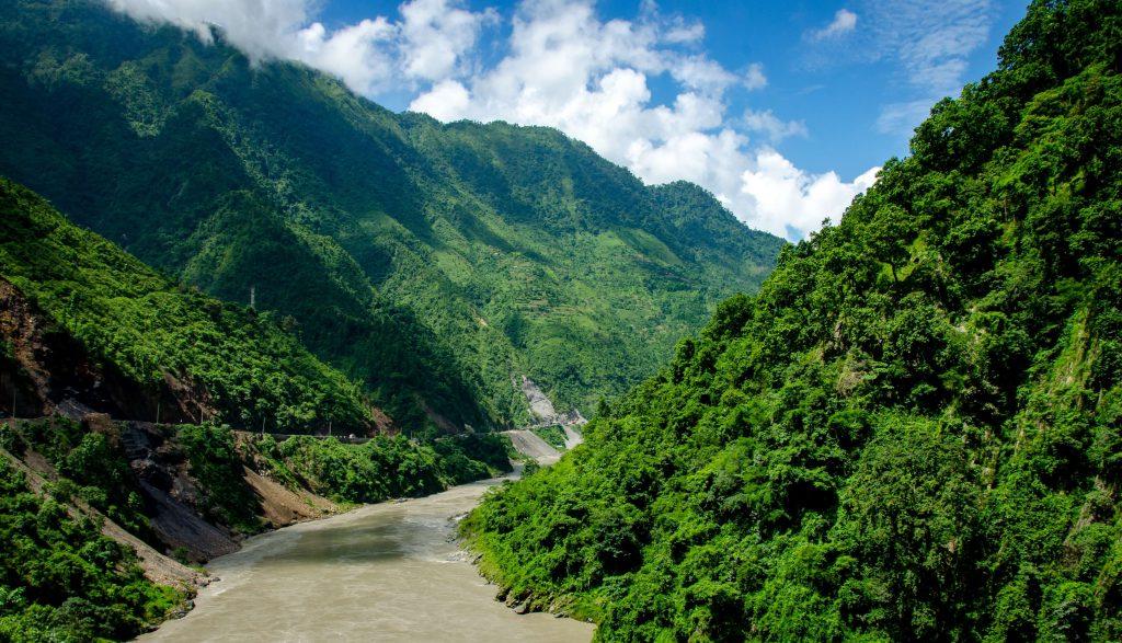 Annapurna Community trek – rivier tijdens de trekking
