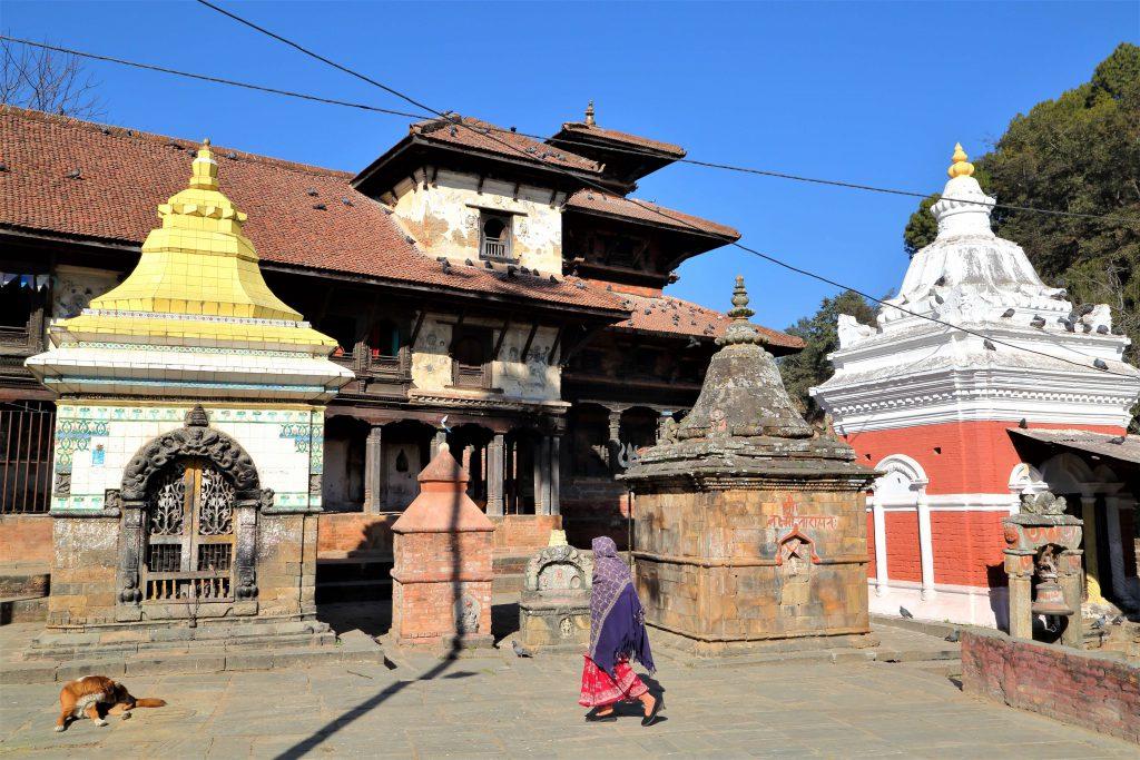 Hoogtepuntenreis Nepal – het centrale dorpsplein in het Newari dorpje Panauti