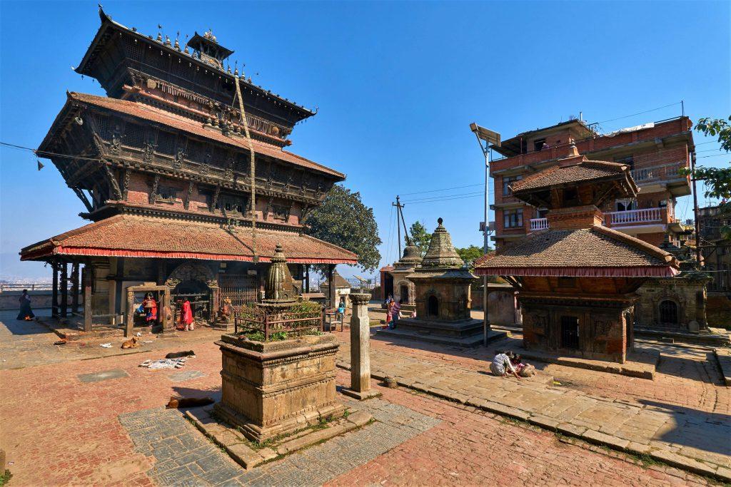 Hoogtepuntenreis Nepal – tempel in Kirtipur