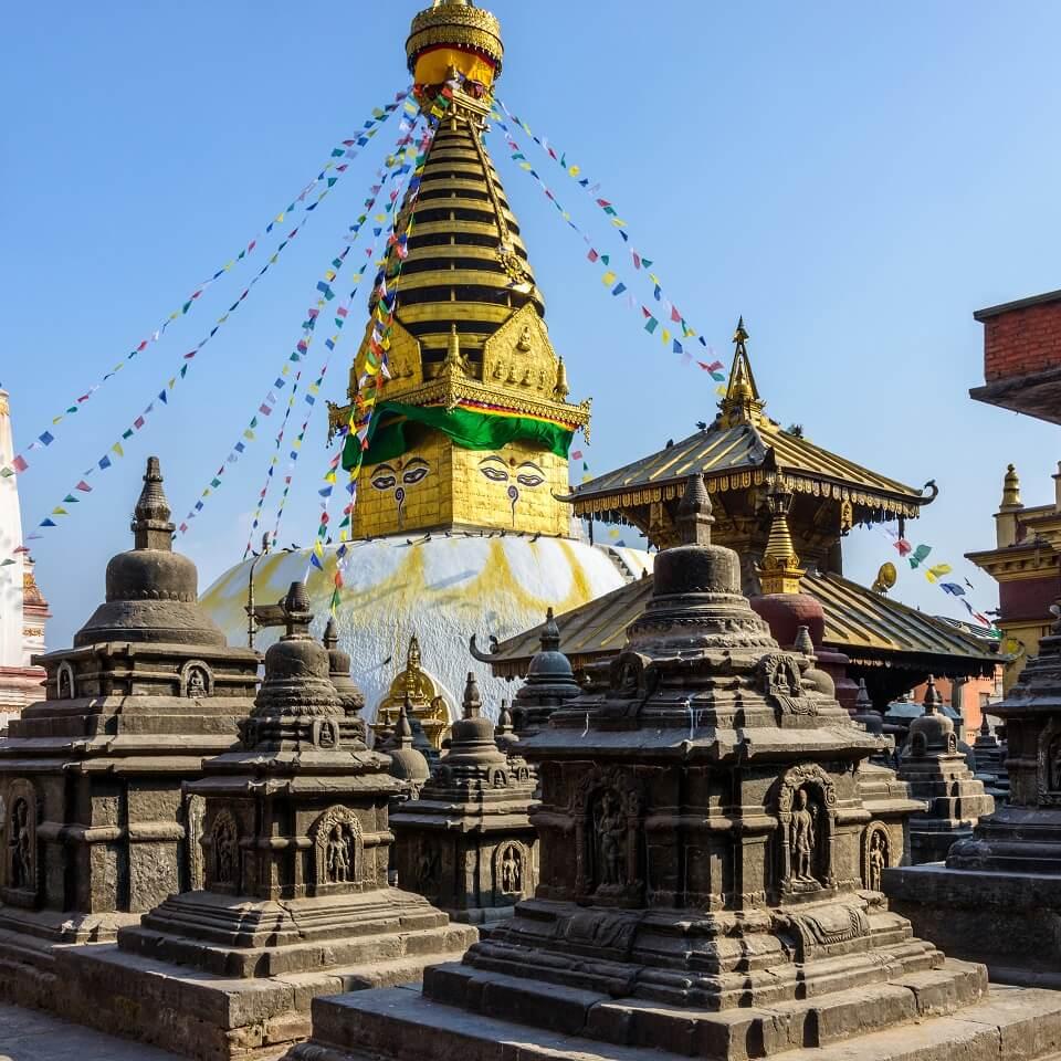 Hoogtepuntenreis – de apentempel van Swayambunath
