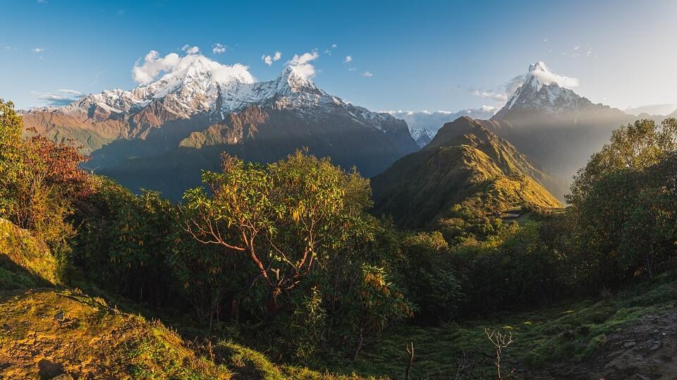 Mardi Himal trekking – schitterend uitzicht tijdens de trekking