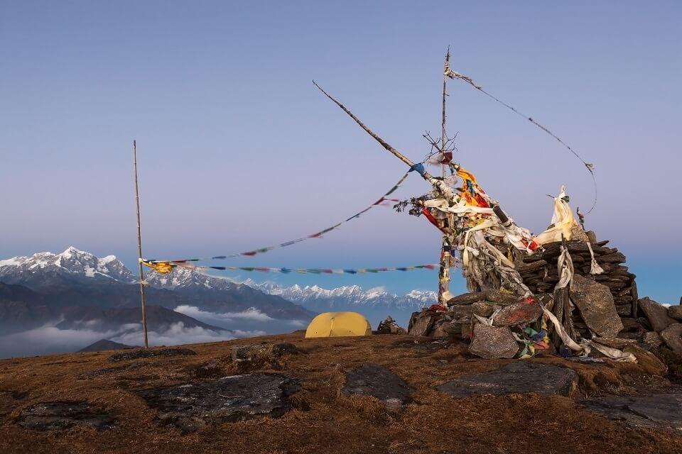 Pikey Peak trekking – zonsondergang op Pikey Peak