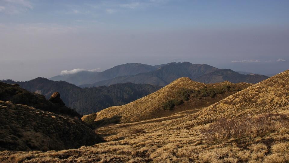 Poon Hill & Muldai Peak trekking – zicht vanop Muldai Peak