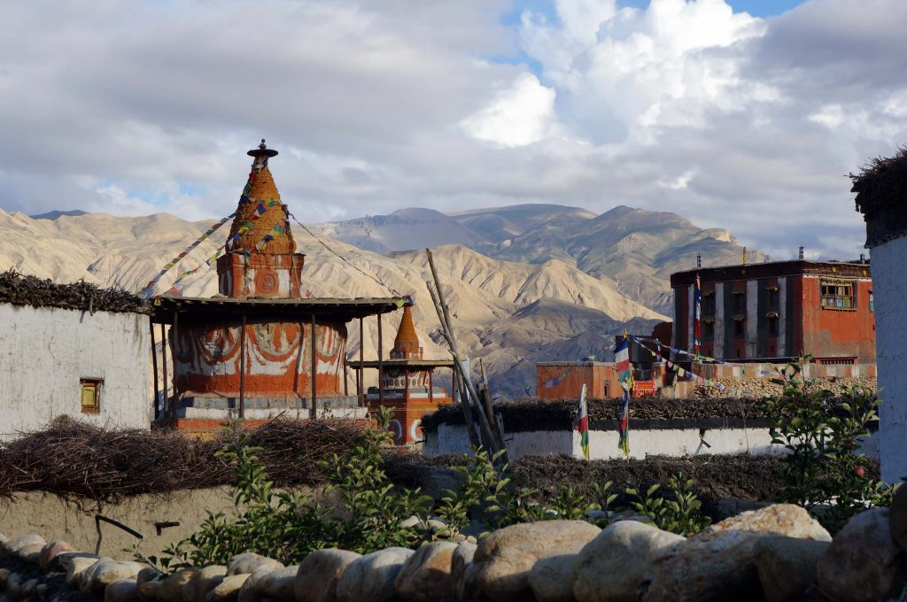 Upper Mustang trek - Tibetaans klooster