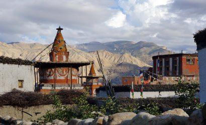 Upper Mustang trek - Tibetan monastery