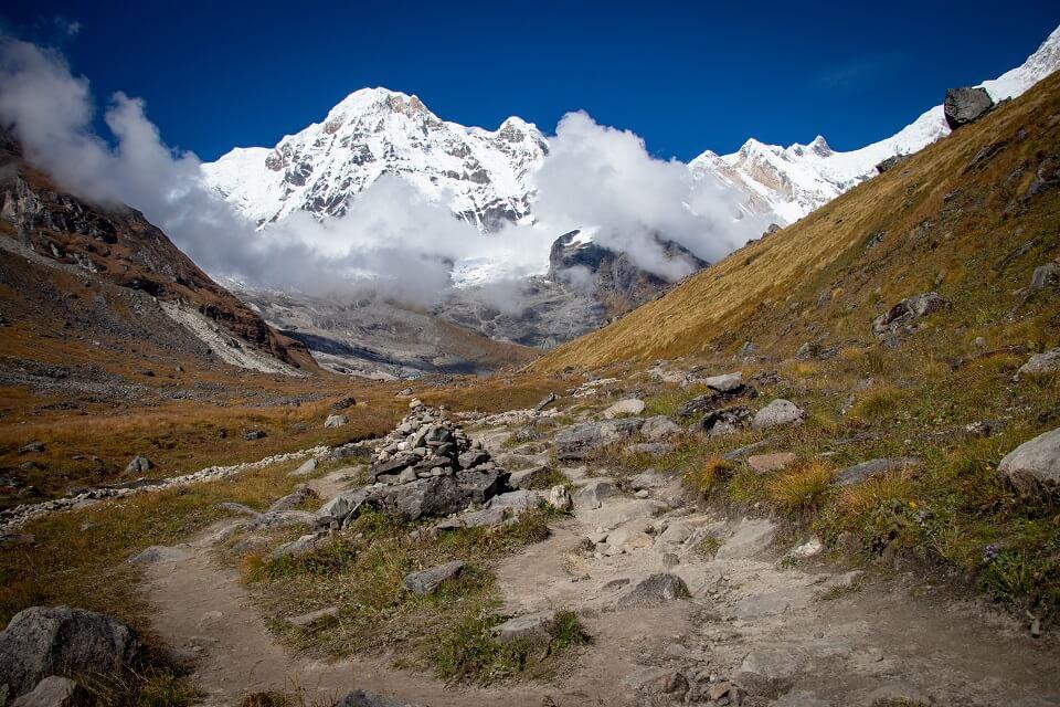 Annapurna Sanctuary trek – het pad naar Annapurna Base Camp