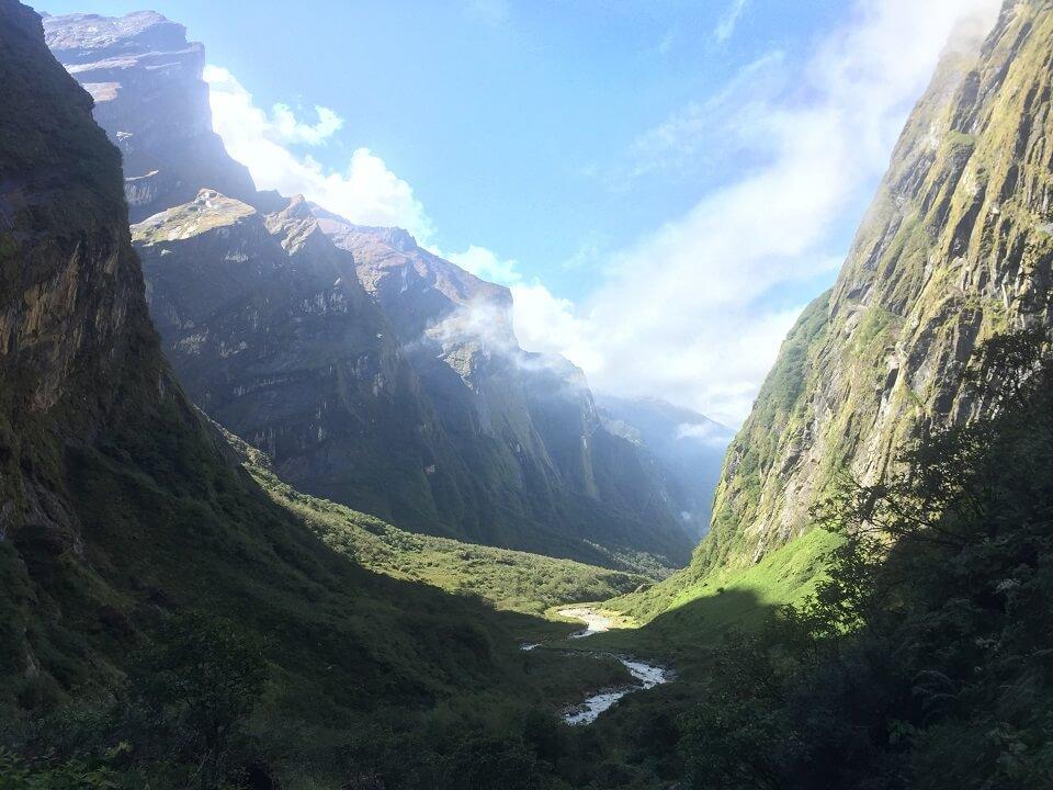 Annapurna Sanctuary trek – onderweg naar Annapurna Base Camp