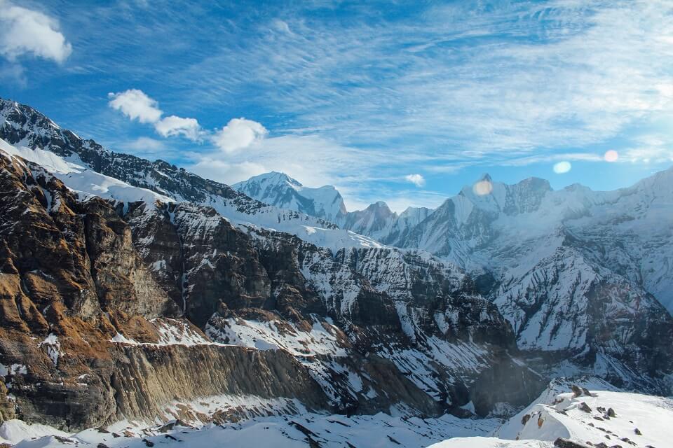 Annapurna Sanctuary trek – schitterende uitzichten op de Annapurna bergketen
