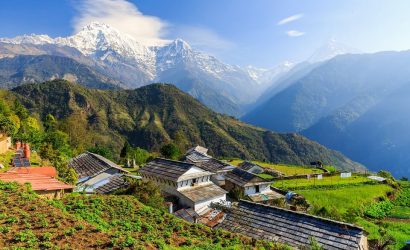 The astonishing Himalayas