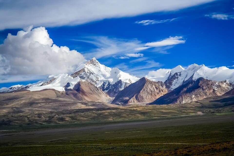 Langtang vallei trekking – het Langtang gebergte