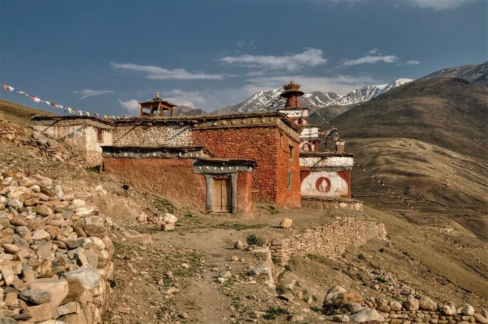 Upper Dolpo trek – Boeddhistisch klooster onderweg
