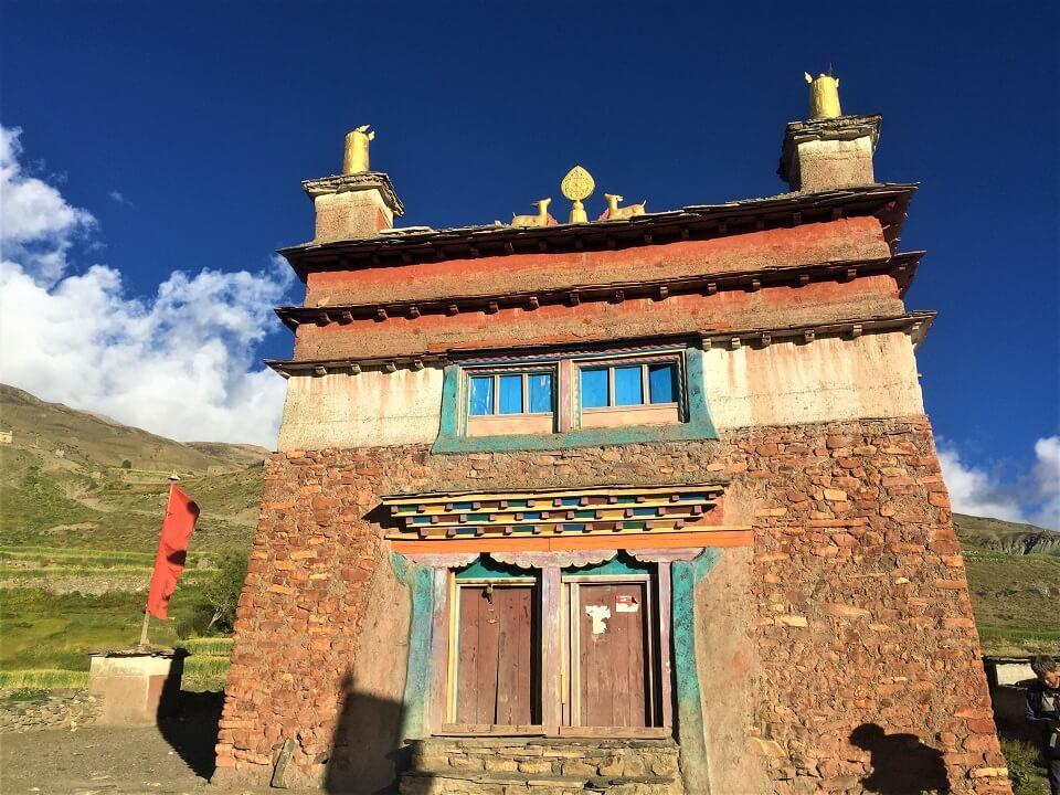 Upper Dolpo trek – Boeddhistisch klooster tijdens de trekking