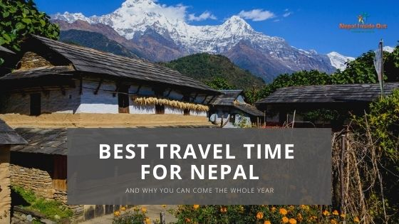 Best travel time for Nepal