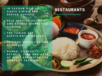 Health and safety measures Nepal – restaurants