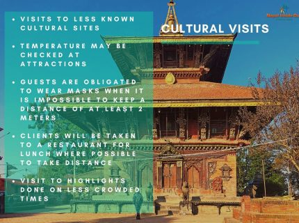 Health and safety measures Nepal – cultural visits