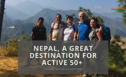 Nepal for active over fifties
