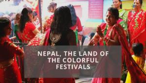 Nepal's colorful festivals